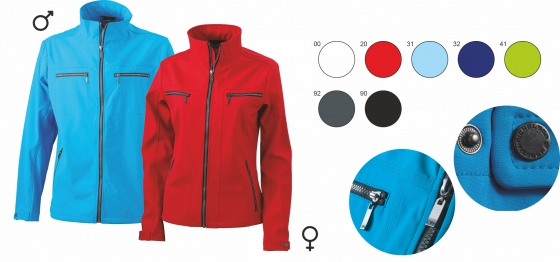 Ladies softshell
